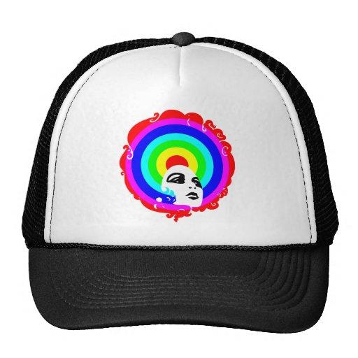 RegenbogenAfro Kultkappe