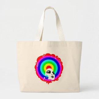 RegenbogenAfro Einkaufstasche