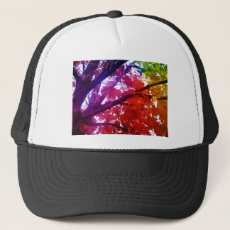 Regenbogenbaum Truckerkappe