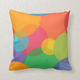 Regenbogenblase Kissen