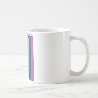 Regenbogenbleistifte Kaffeetasse