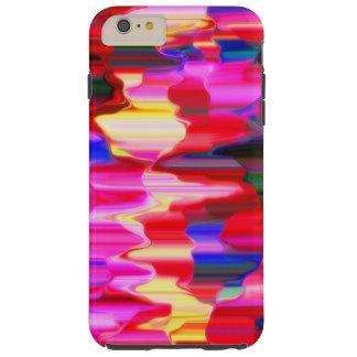 Regenbogenbratenfettfarbe Tough iPhone 6 Plus Hülle