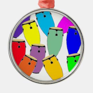 Regenbogencongas Silbernes Ornament