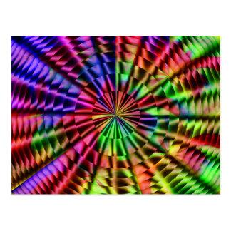Regenbogenfarben von Life_ Postkarte