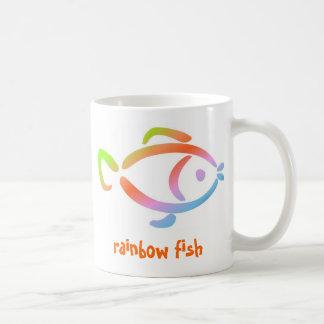 Regenbogenfische Kaffeetasse