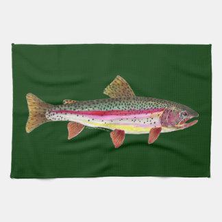 Regenbogenforelle-Fische Handtuch
