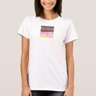 Regenbogenforelle-Fischen T-Shirt