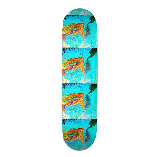 Regenbogenhaar-Meerjungfrau-Skateboard 19,7 Cm Skateboard Deck