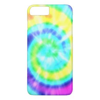 Regenbogenhippie-gefärbte Krawatte iPhone 7 Plus iPhone 8 Plus/7 Plus Hülle