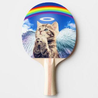 Regenbogenkatze - Katzenbeten - Katze - niedliche Tischtennis Schläger