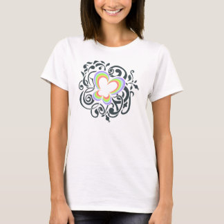 Regenbogenschmetterling T-Shirt