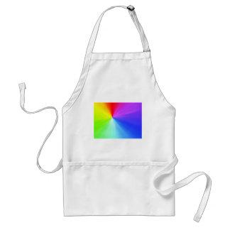 Regenbogenspektrumentwurf Schürze