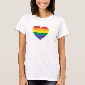 Regenbogenstolzherz T-Shirt