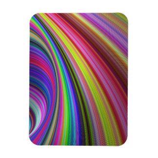 Regenbogenturbulenz Magnet