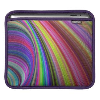 Regenbogenturbulenz Sleeve Für iPads