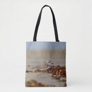 Regenpfeifer und Meerespflanze Tasche