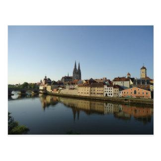 Regensburg, Deutschland Postkarte