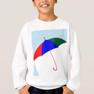 Regenschirm im Regen Sweatshirt