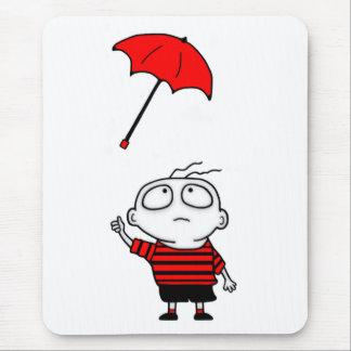 Regenschirm-Junge Mousepad