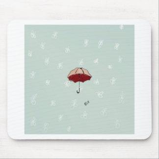 Regenschirm Mousepad