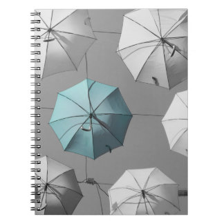 Regenschirm-Notizbuch Notizblock