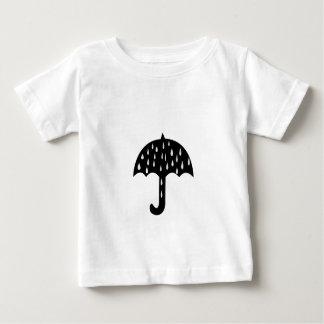 Regenschirm und Regnen Baby T-shirt