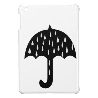 Regenschirm und Regnen iPad Mini Hülle