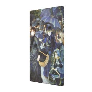 Regenschirme durch Pierre Renoir, Vintager Leinwanddruck