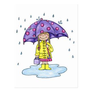 RegenschirmSweetie Postkarte