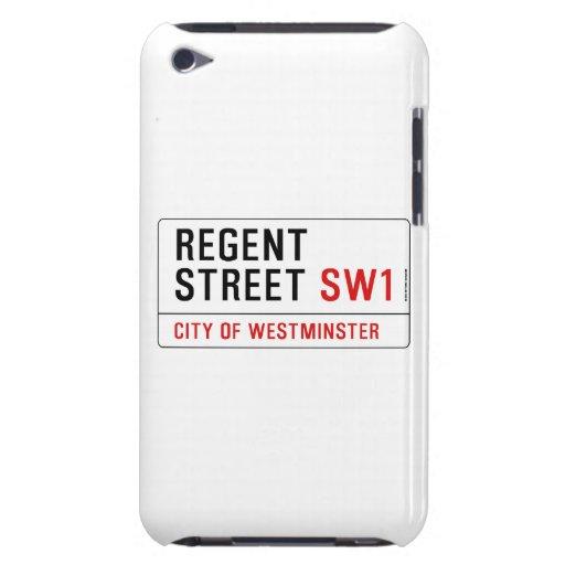 Regente Straße iPod Touch Hüllen