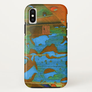 Regentropfen gehen tropisch iPhone x hülle