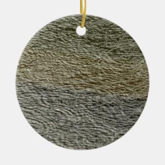 Regentropfen plätschert abstrakte keramik ornament