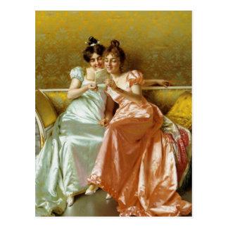 Regentschafts-Buchstabe Postkarte