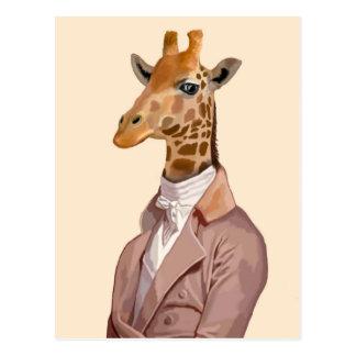 Regentschafts-Giraffe 2 Postkarte