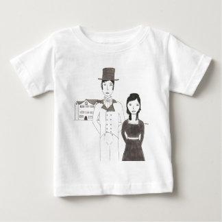Regentschafts-Mann und Ehefrau (Zeit lässt mich Baby T-shirt