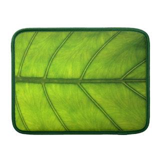Regenwald-Blatt MacBook Sleeves