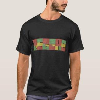 Reggae in der Leinwand T-Shirt