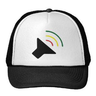 Reggae-lauter Hut Retrokultkappen