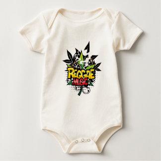 Reggae-Musik Baby Strampler