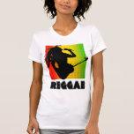 Reggae-Musik Rasta Rastaman die T - Shirts der Git