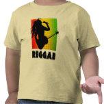 Reggae-Musik Rasta Rastaman Gitarren-Kleinkind-T - Hemd