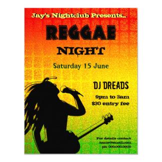 Reggae-NachtParty Einladung