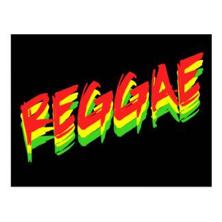 Reggae Postkarte