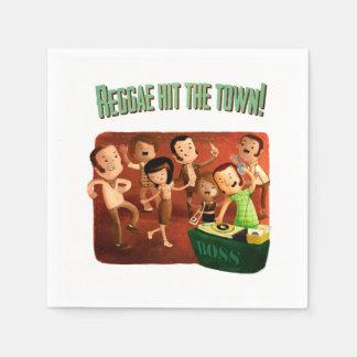 Reggae schlug die Stadt! Papierserviette