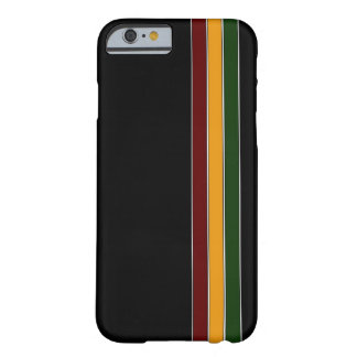 Reggae Stripes iPhone 6 Kasten Barely There iPhone 6 Hülle