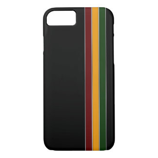 Reggae Stripes iPhone 7 Kasten iPhone 8/7 Hülle