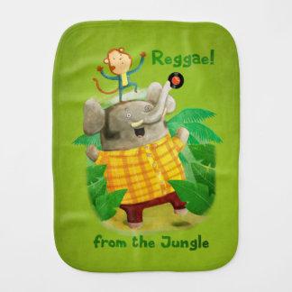 Reggae vom Dschungel Baby Spucktuch