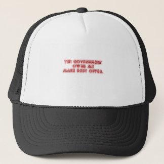 Regierung besitzt mich Entwurf! Truckerkappe