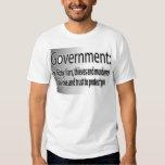 Regierung: Schmutzige Lügner T Shirts