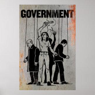 Regierungs-Druck Poster